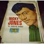 Antiguo Afiche Callejero Nicky Jones El Club Del Clan