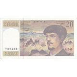 Francia 20 Francos 1993