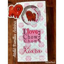 Carteirinha De Vacinação - Personalizada Pet - Chow Chow