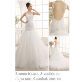 Vestido De Noiva De Alta Custura