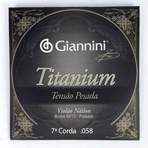 Corda Avulsa (sétima) Giannini Titanium Tensão Pesada