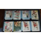Lote 8 Tarjetas Postales Comicas Antiguas