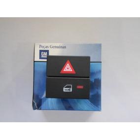 Botão Interruptor Trava E Pisca Alerta Gm Vectra 06 Á 12 Gm