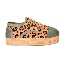 Abotinado Leopardo Naranja Con Base - Chimmy Churry