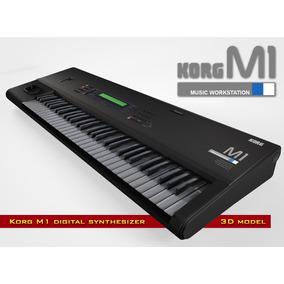 Korg M1 Y T1 Virtual (con Todas Las Expansiones)