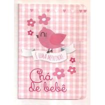 100 Convites De Chá De Bebê Menina