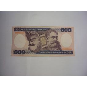 Cédulas, Notas Antigas 500 Cruzeiros