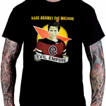 Camiseta Rage Against The Machine - Evil Empire (preta)