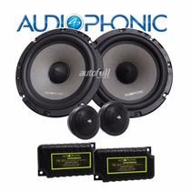 Alto-falante Kit 2 Vias Sensation Ks 6.2 - 130w Audiophonic