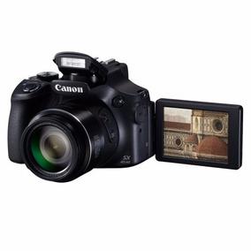 Câmera Canon Sx60hs 16mp / 65x / Wi-fi Preto