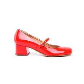 Natacha Zapato Mujer Guillermina Charol Rojo #331