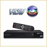 Receptor Antena Parabolica Digital Com Globo Sua Regiao