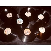 Discos Nuevos De Vinilo P/ Decoración O Artesanías Pack X 50