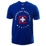 Playera Club Deporitvo Cruz Azul Hombre Under Armour Ua610