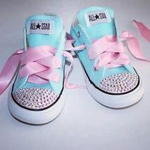 Hermosos Zapatos Para Niña Originales Decorados Con Pedreria