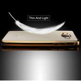 Case De Celular Chique Dourada P/ Samsung Galaxy J5 J500
