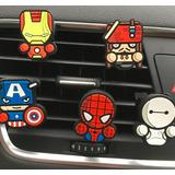 Adornos Ambientadores De Los Avengers Para Autos Iron Manetc