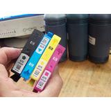 Kit De Recarga Para Cartuchos Hp 670 Con Video Instructivo