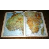 Atlas Universal Danae Mapas Países Geografía Fotos 1970