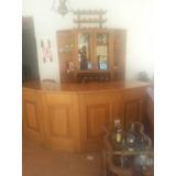 Mueble De Madera Para Tasca O Bar Con Barra