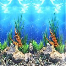 Painel Para Fundo De Aquario 100cm X 30cm Altura
