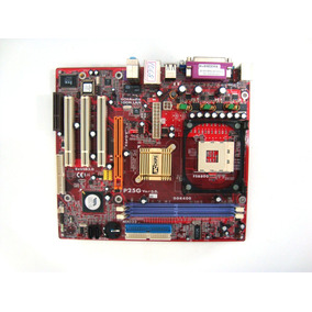 Placa Mãe Computador Pc Chips P25g Intel 478 Ddr