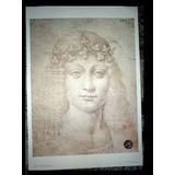 Gravura Italiana Leonardo Da Vinci Giovani Bacco 50 X 35 Cm