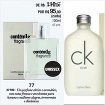 Perfume Contém 1grama Tendência Olfativa Ck One Unissex