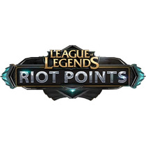 14100 Riot Points League Of Legends - Rp Lol - Insert Coin
