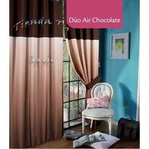 Cortinas Duo Air Chocolate En Degradé Jean Cartier