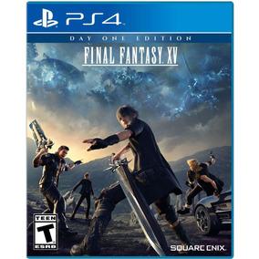 Final Fantasy Xv 15 Day One Nuev Fisico Ps4 Dakmor Canj/vent