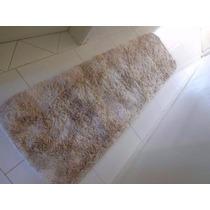 Tapete Passadeira Shaggy Corredor 0,60x2,00m 4cm Peludo