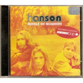 Cd Hanson - Middle Of Nowhere - Seminovo***
