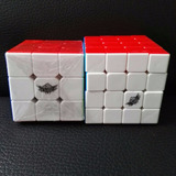 Combo Cubos Rubik 3x3 4x4 Originales Cyclone Boys Pack Set 2