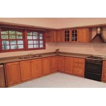 Muebles De Cocina En Algarrobo X Metro Lineal Instalacci S/c