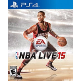 Nba Live 15 Juego Ps4 Playstation 4 Oferta