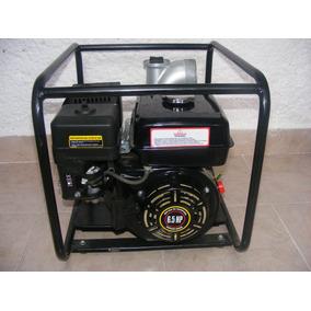 Motobomba Thesus A Gasolina Mod. 81018 Motor De 6.5 Hp
