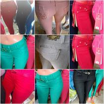 Jeans Elastizados Chupin Importados Dromedar X 12 Unidades