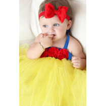 Disfraz Bebe Tutu Niña Princesa Blanca Nieves