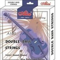 Vendo Set Cuerdas Para Contrabajo Marca Alice A1000
