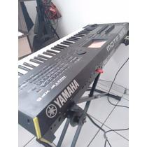 Teclado Sintetiz Yamaha Motif Xf6+placa Expansão 500mb+dvd