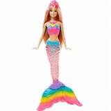 Barbie Sirena Sumergible - Luces De Arcoiris.