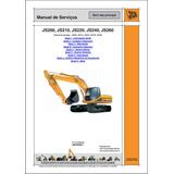 Manual De Serviço Escavadeira Jcb 200 Em Português.