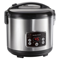 Hamilton Beach Arroz Digital Vapor Olla Caliente Cereal Enju