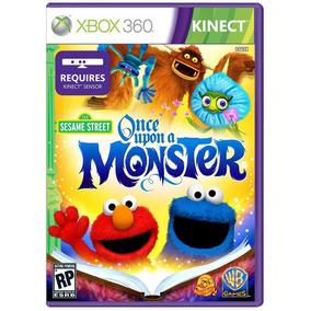 Jogo Vila Sésamo Era Uma Vez Um Monstro Para Xbox 360 Kinect