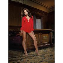 Sentite Sexy Para Dormir, Unico Pijama Rojo !!!