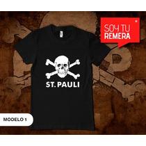 Remeras St. Pauli Alemán Punk Rock