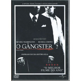 Dvd O Gangster Duplo Denzel Washington Original Lacrado