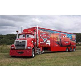 Caminhão Carreta Mack Relampago Mcquem Controle Remoto