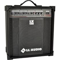 Caixa Amplificada Ll Lx 100 Cubo Guitarra Violão Microfone